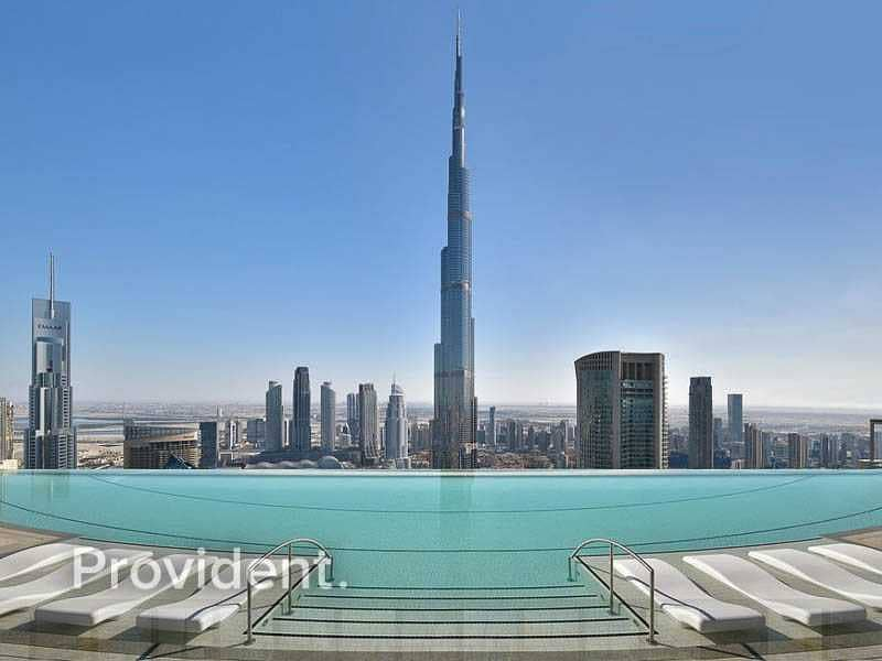 26 First Class Living   Burj Khalifa View   Luxury
