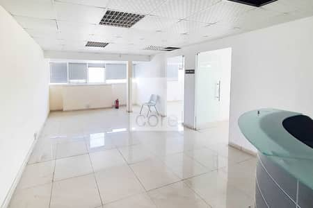 Office for Rent in Airport Street, Abu Dhabi - Fitted with Partitions | Low Floor | ADED