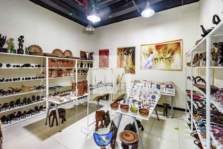 Shop for Sale in Jumeirah Lake Towers (JLT), Dubai - Fitted Retail shop | Near the Metro | Ground Floor