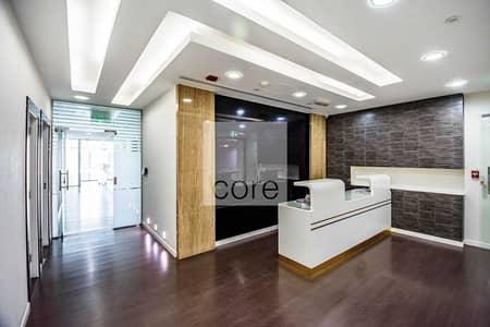مکتب  للايجار في ديسكفري جاردنز، دبي - Fully Fitted with Glass Partitions | 12 Cheques
