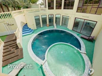 فیلا 7 غرف نوم للبيع في تلال الإمارات، دبي - Furnished w/ Pool