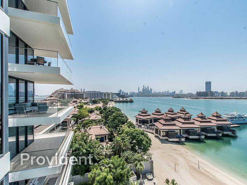 Half Floor Penthouse   Sea and Palm Views