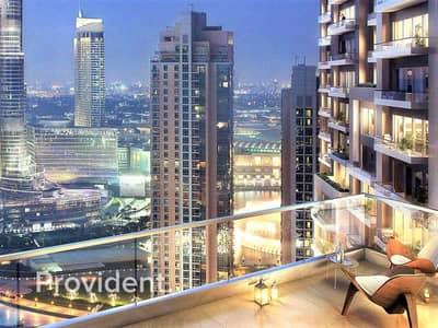 شقة 3 غرف نوم للبيع في وسط مدينة دبي، دبي - 0% Commission | DLD Fee Discount | 50/50 PP