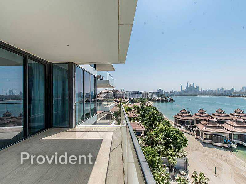 2 Half Floor Penthouse   Sea and Palm Views