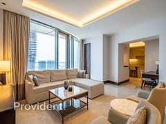 شقة في العنوان ريزدينسز سكاي فيو 1 العنوان رزيدنس سكاي فيو وسط مدينة دبي 2 غرف 275000 درهم - 5265135