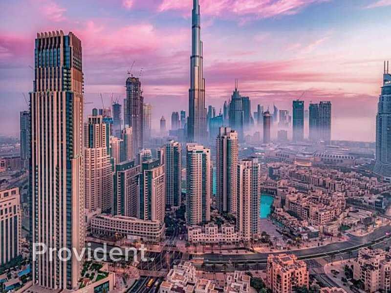 Burj Khalifa & Canal View | Ready Q4 2022