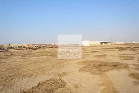 ارض تجارية  للايجار في مصفح، أبوظبي - Huge Open Yard | Good Location | 12 Payments