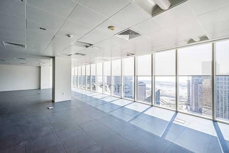 مکتب  للايجار في البطين، أبوظبي - Combined CAT A Office | High Floor | Parking