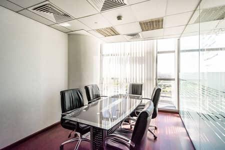 مکتب  للايجار في مدينة دبي للإعلام، دبي - Furnished and Fitted   Freezone   Mid Floor