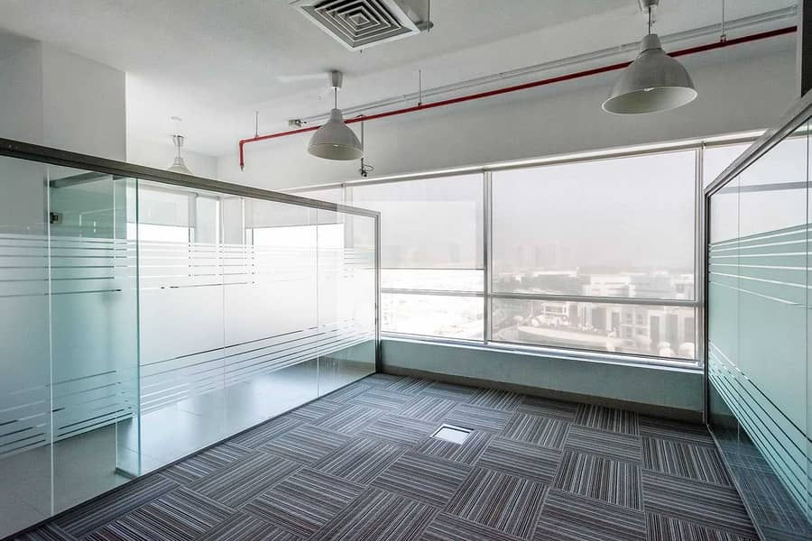 Fitted Office | Low Floor | AC Included | DED