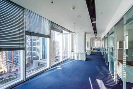 مکتب  للايجار في شارع الشيخ زايد، دبي - Mid Floor | Fitted Office | Near Metro