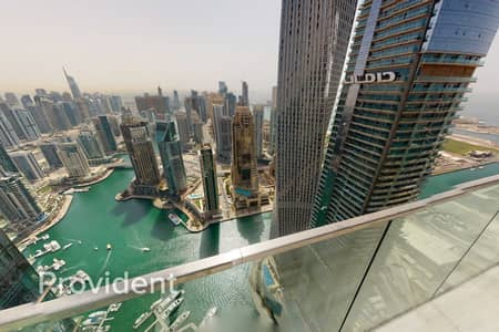 بنتهاوس 4 غرف نوم للايجار في دبي مارينا، دبي - Brand New Luxury Penthouse   Full Marina/Sea View