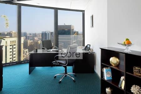 مکتب  للايجار في شارع ليوا، أبوظبي - Serviced Offices | Professional Environment