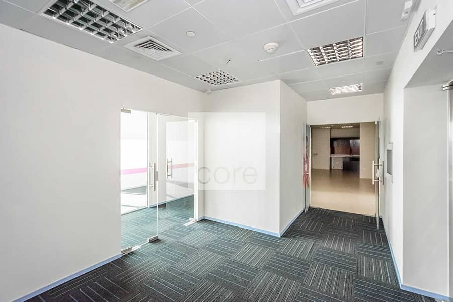 10 Spacious | Fitted Office | High Floor