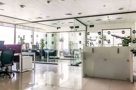Office for Sale in Jumeirah Lake Towers (JLT), Dubai - Fitted Office | Prime Location | Mid Floor
