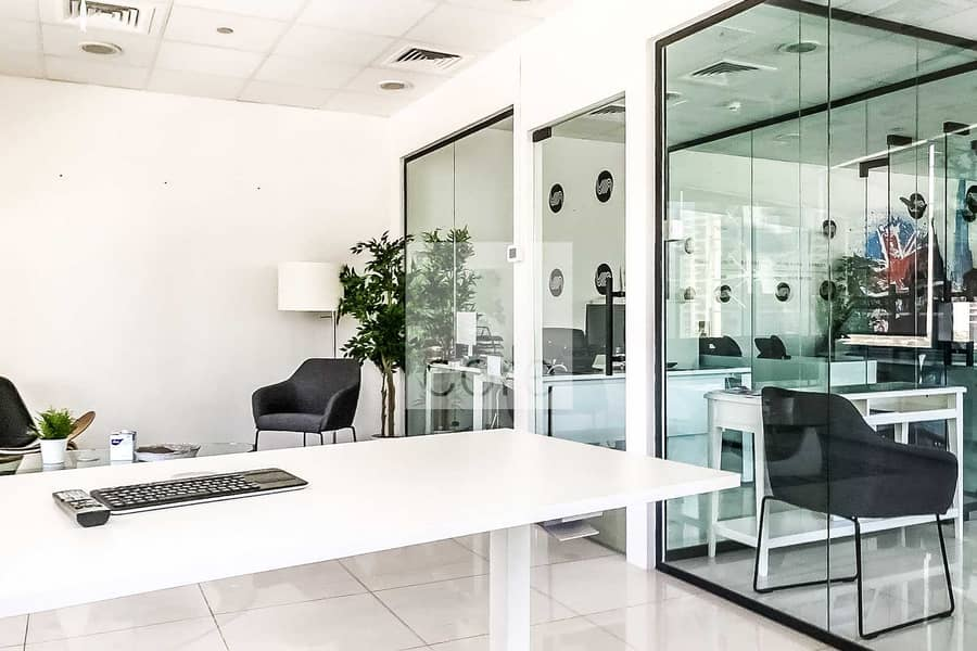 2 Fitted Office | Mid Floor | DMCC Freezone