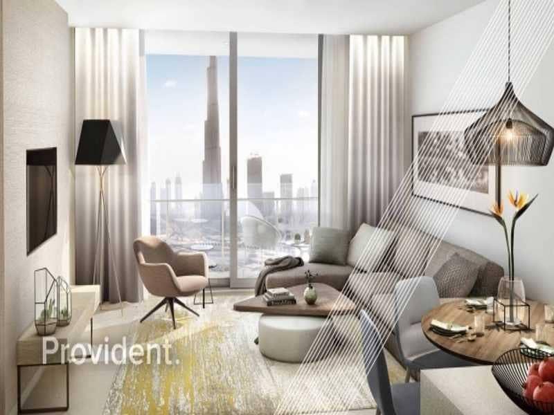 4 Vida Residence Directly Linked to Dubai Mall