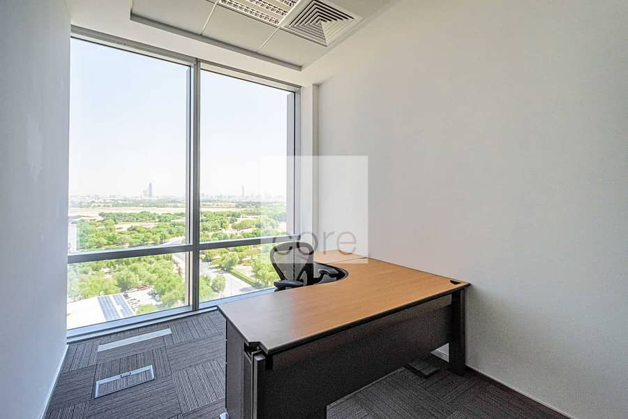 13 Fitted and Furnished Office | Low Floor