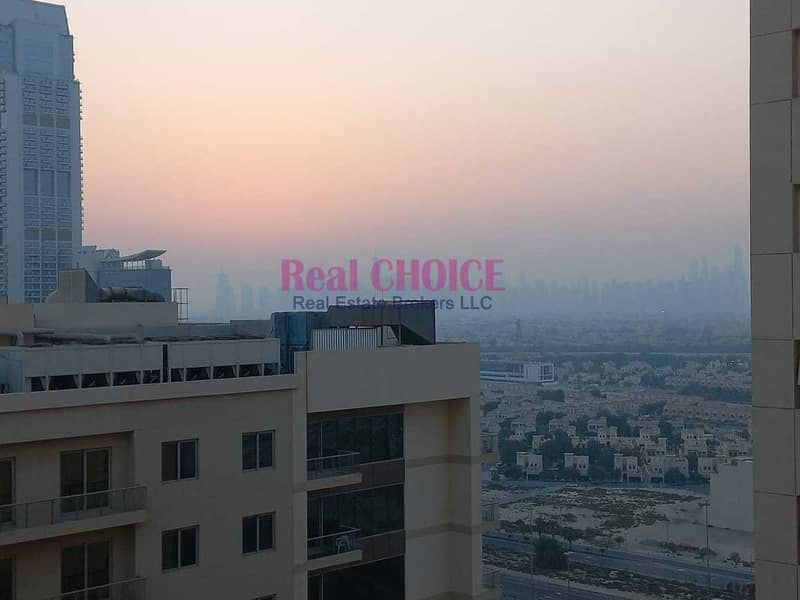 18 2BHK+Maids room | High Floor | Community and Cityscape View