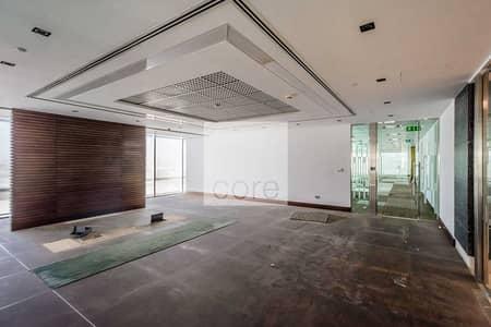 مکتب  للايجار في داون تاون جبل علي، دبي - Fitted office on high floor | The Galleries 4