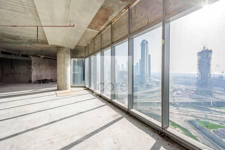 طابق تجاري  للايجار في مركز دبي المالي العالمي، دبي - Available Full Floor   Shell and Core Office