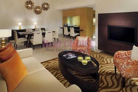 شقة فندقية 3 غرف نوم للايجار في الجداف، دبي - No Commission| Free Global Nights| All Included