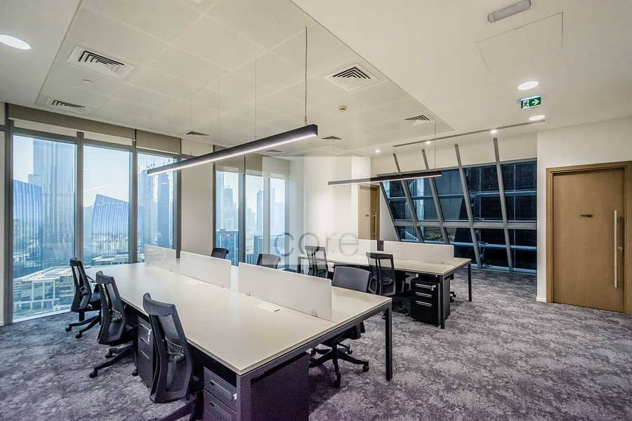 Fitted and Furnished Office   Mid Floor