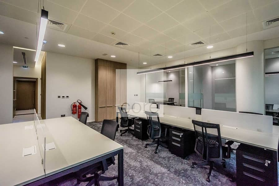 10 Fitted and Furnished Office   Mid Floor