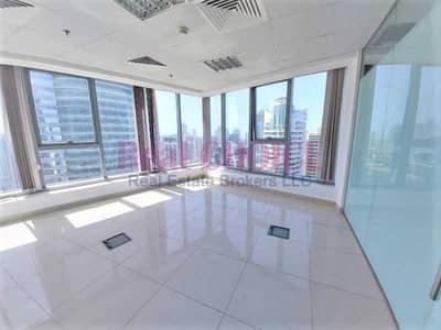 Office for Rent in Jumeirah Lake Towers (JLT), Dubai - Lake View Corner unit High Floor Vastu Compliance