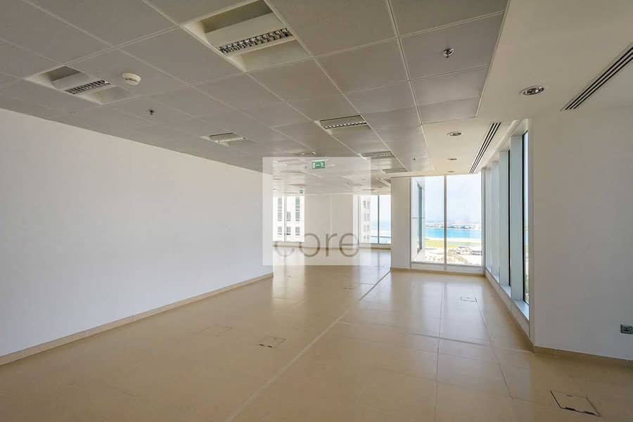 Combined fitted full office floor vacant