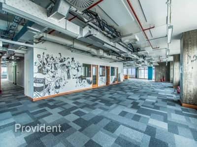 Floor for Rent in Dubai Internet City, Dubai - Full Floor   Fantastic Finishing   Chiller Free