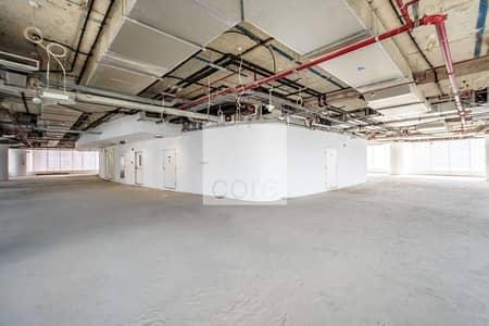 مکتب  للايجار في الخليج التجاري، دبي - Shell and Core | DED License | Prime Location
