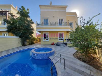فیلا 4 غرف نوم للبيع في ذا فيلا، دبي - Furnished 4 BR Plus 3 rooms on Roof Custom  Villa   Swimming Pool  Landscape Garden