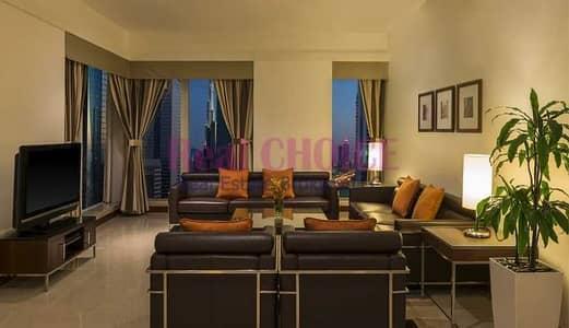 شقة فندقية 2 غرفة نوم للايجار في شارع الشيخ زايد، دبي - Huge Balcony For 2BR Hotel Apartment Ready To Move