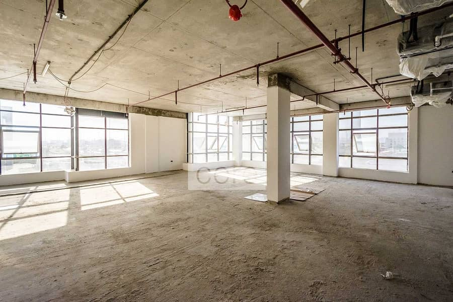 Spacious Shell and Core Office | Parking