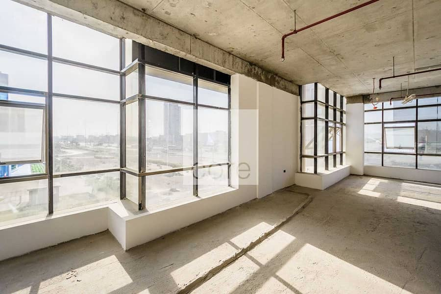 2 Spacious Shell and Core Office | Parking