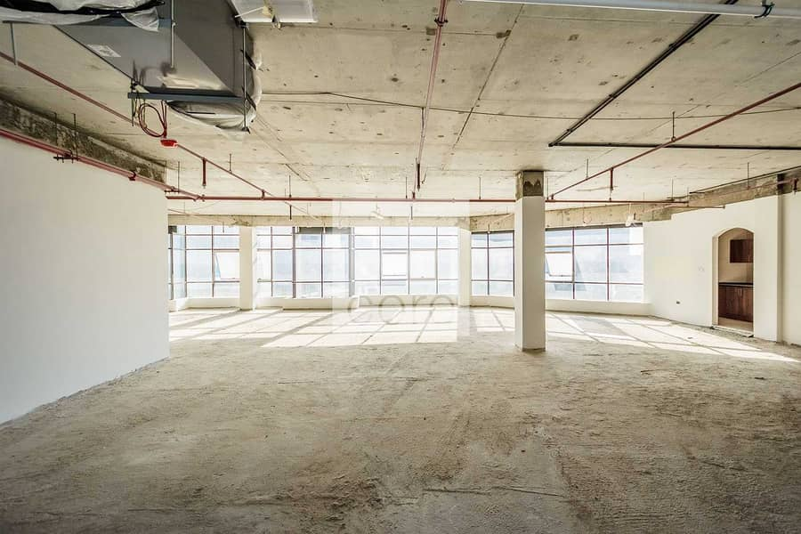 Combined Shell and Core Office | High Floor