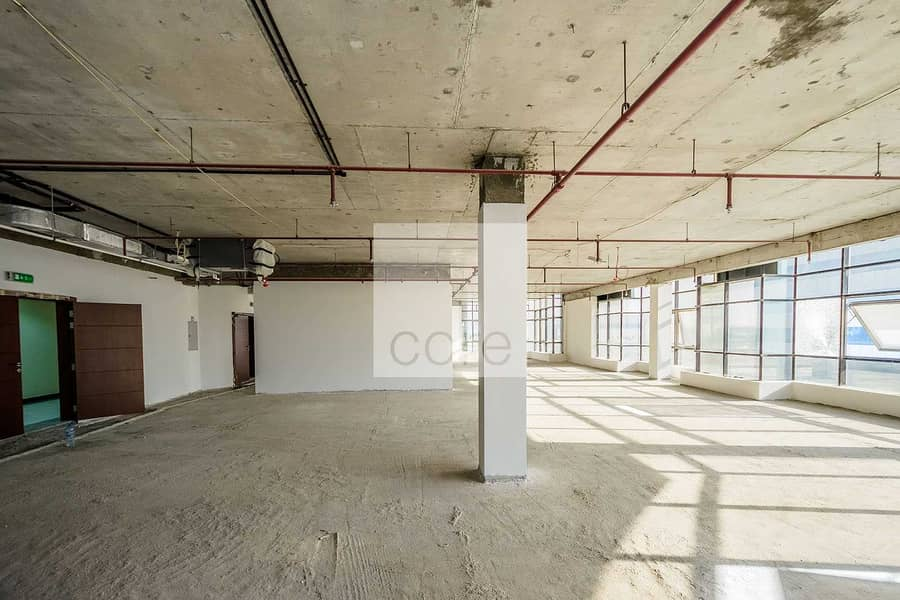 2 Combined Shell and Core Office | High Floor