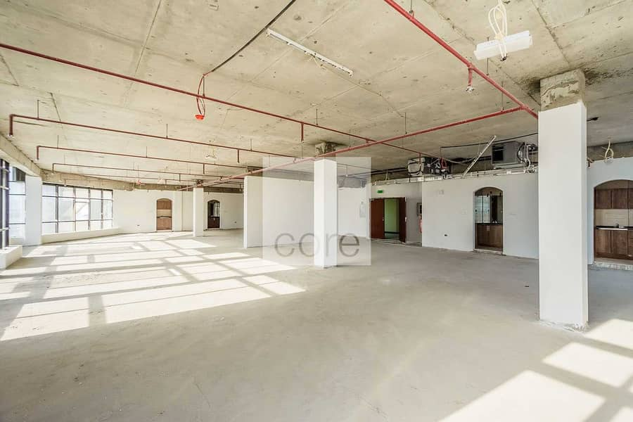 Full Floor | Shell and Core | Parking