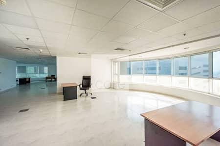 مکتب  للايجار في شارع الشيخ زايد، دبي - Fitted Furnished Office   Chiller Incl