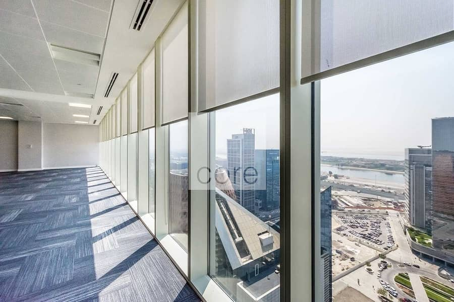 Fitted office on high floor good location