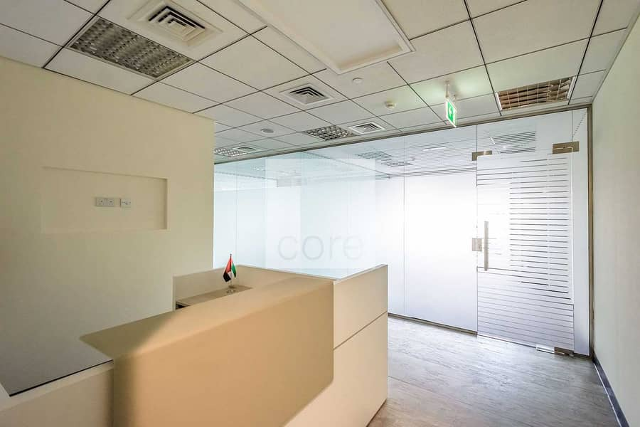 2 Ideally Located | Available Fitted Office