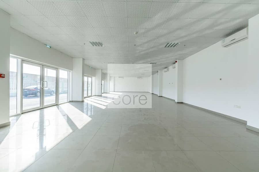 Huge fitted office space in Mussafah Area