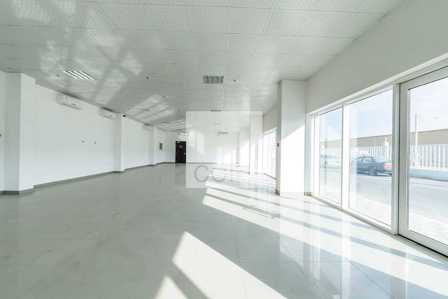 10 Huge fitted office space in Mussafah Area