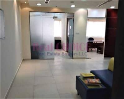 مکتب  للايجار في موتور سيتي، دبي - Furnished Office | High Floor | Detroit House