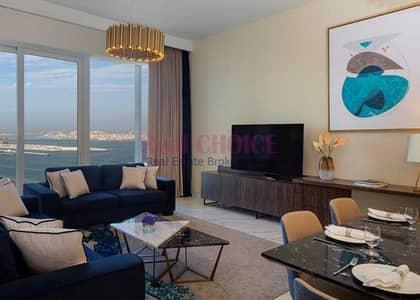 شقة فندقية 2 غرفة نوم للايجار في مدينة دبي للإعلام، دبي - Brand New| All Bills inclusive| Stunning Sea view