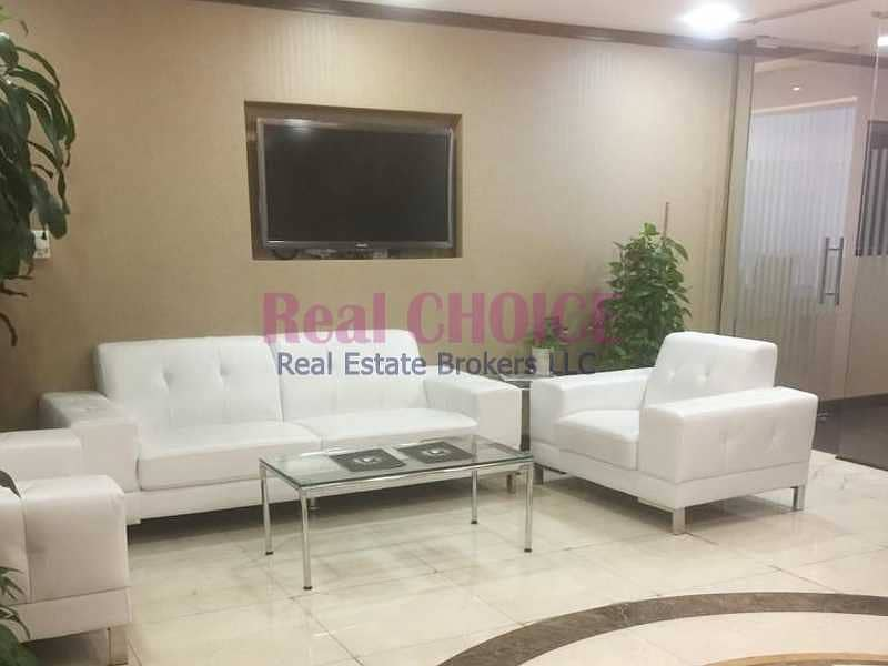 Fully Furnished|Combined 3 Offices|On Low Floor