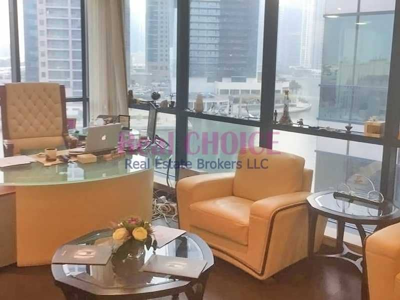 2 Fully Furnished|Combined 3 Offices|On Low Floor