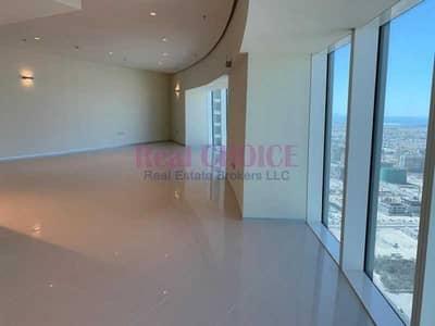 شقة 2 غرفة نوم للايجار في شارع الشيخ زايد، دبي - Chiller Free Pay in 4 Chqs Sea View 2BR in Park Place Tower