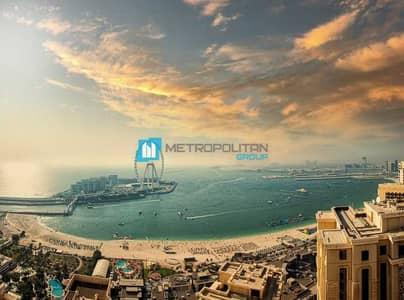 شقة 3 غرف نوم للبيع في جميرا بيتش ريزيدنس، دبي - Full Panoramic Sea view I Upgraded and Furnished